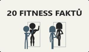 20 zajímavých faktů o fitness, které jste možná neznali